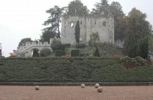 Ruine ancien chateau de Langeais
