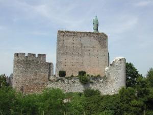 chateau de montbazon vue de derrière