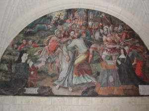 fresque salle capitulaire