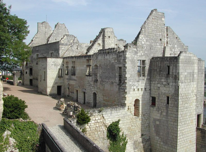 Photos du chateau de chinon indre et loire 37 centre - Office tourisme chateau chinon ...
