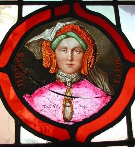 vitrail Agnes Sorel Loches