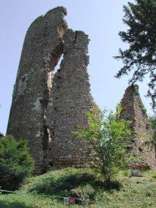 Chateau de Fréteval dans le Loire et Cher (41)