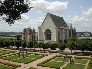 Sainte Chapelle du chateau d'Angers construite par le roi de France Saint Louis