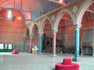 Ancienne salle seigneuriale au moyen age du château des comtes de Blois