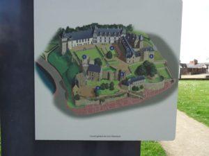 plan du monument de chateaubriant
