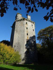 Le donjon du chateau de Largoet
